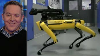 Video of Boston Dynamics' SpotMini quadruped robot opening a door for a robotic friend is impressive -- perhaps too impressive.