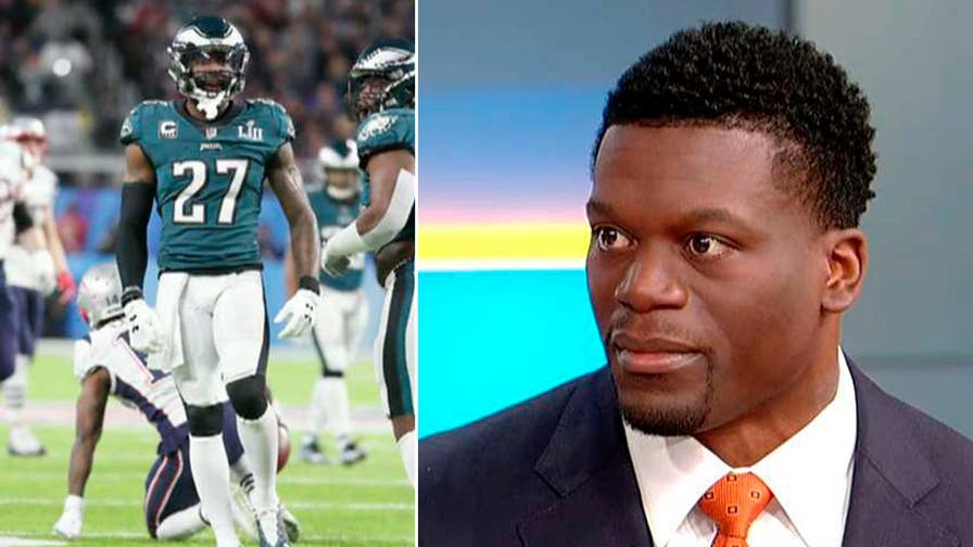 NFL player takes on the news of the day about the Olympics, Trump and a school's strategy for stopping fights.