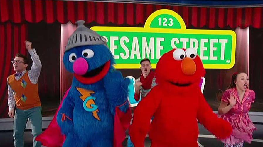 'Sesame Street' cast performs 'You Put The U In Community.'