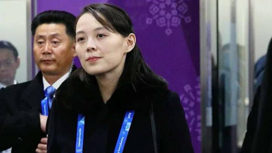 Media fawn over Kim Jong Un's sister at Olympics