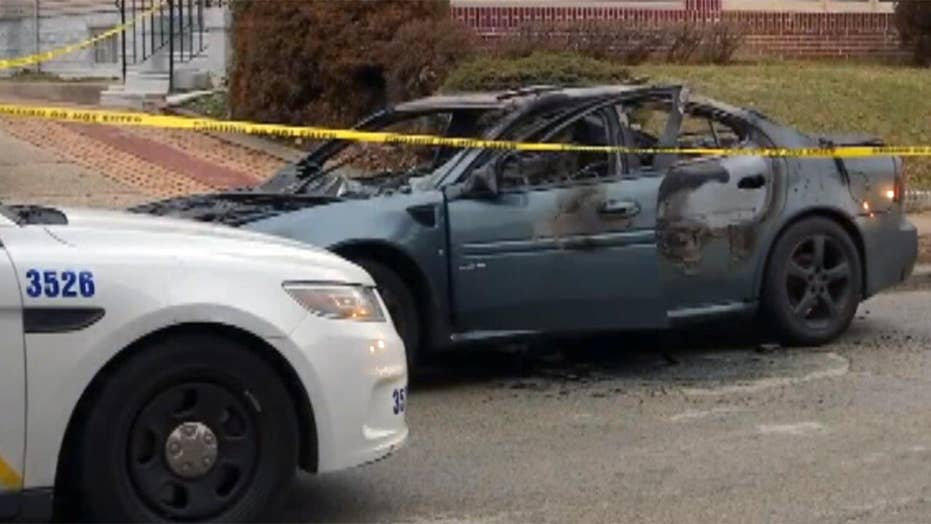 Abducted man held for ransom handcuffed, set on fire in car