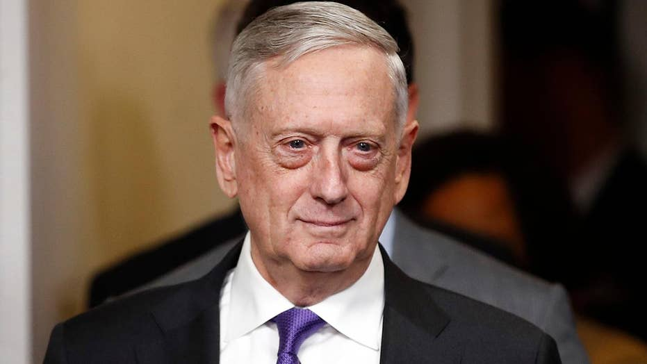 Defense Secretary Mattis: Fight is not over against ISIS