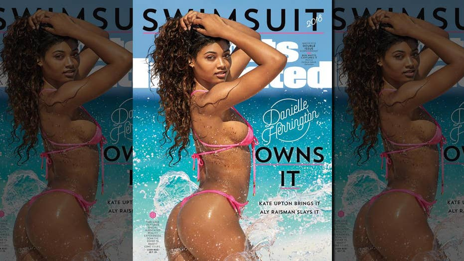 Danielle Herrington makes Sports Illustrated Swimsuit cover