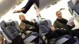 A young Delta passenger who filmed a fellow flyer's rude rant says she now feels bad about the fallout from her viral video, which resulted in the suspension of a New York State government employee.