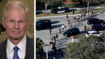 Following the shooting at Marjory Stoneman Douglas High School, Democratic senator from Florida asks when we will 'come to our senses' and end 'mass murder.'