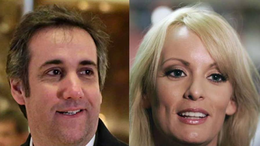 Michael Cohen says he paid $130,000 out of his own pocket to the porn star; chief national correspondent Ed Henry reports from Washington.