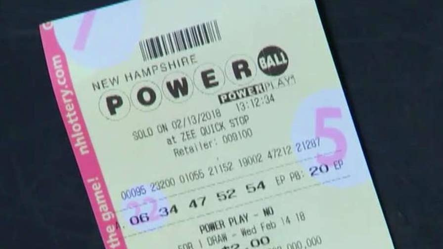 Lottery winner in New Hampshire fights for her right to remain anonymous; Molly Line reports from New Hampshire.