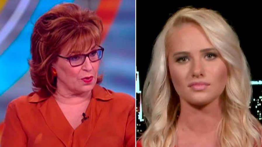 Fox News contributor Tomi Lahren slams 'The View' co-host Joy Behar for ridiculing Vice President Pence's conservative Christian faith.