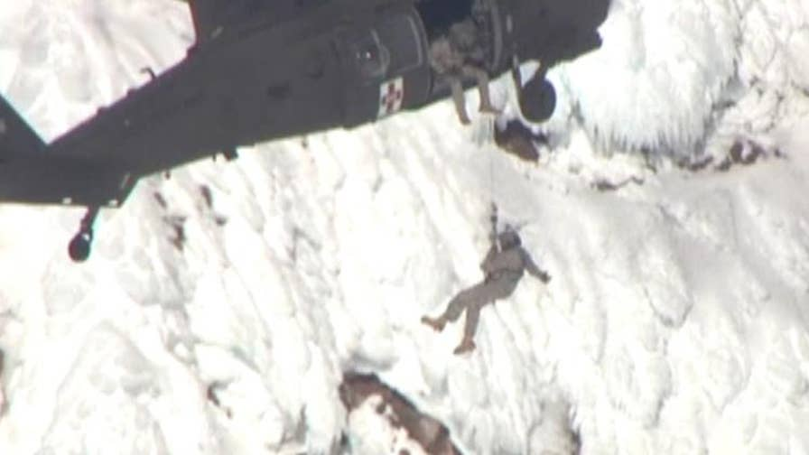 One climber died after falling almost 1,000 feet on Mount Hood.