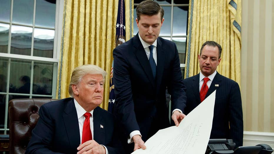 House Oversight Committee investigating Rob Porter scandal