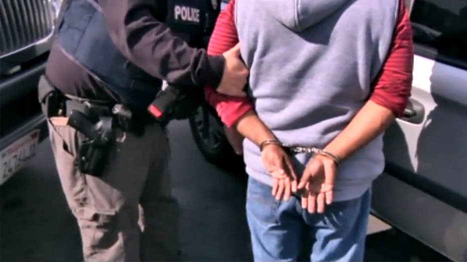 150 illegal immigrants arrested in Los Angeles ICE sweep