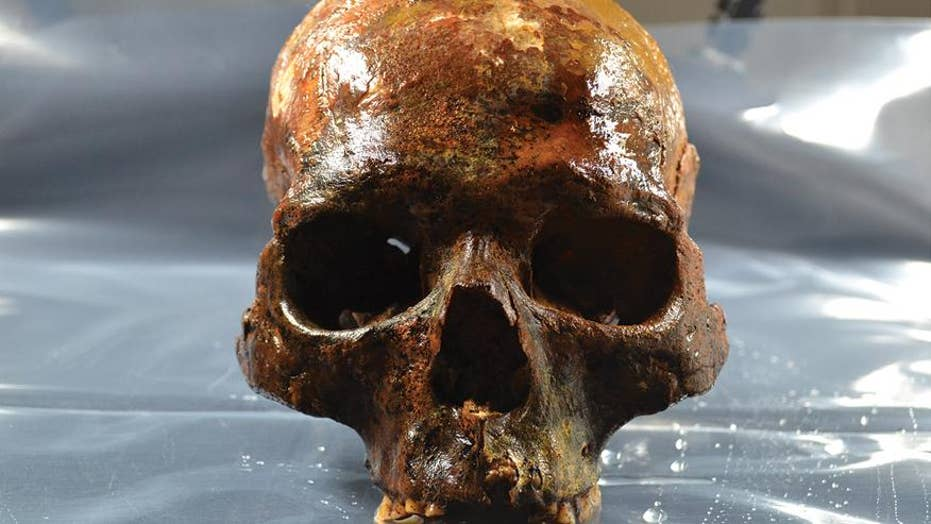 8,000-year-old skulls found in gruesome shape
