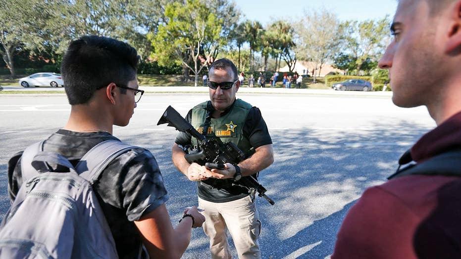 Students describe scene inside Parkland, Florida high school