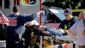 Many of those who survived the massacre at Marjory Stoneman Douglas High School are being treated at a hospital in Pompano Beach; chief national correspondent Ed Henry reports.