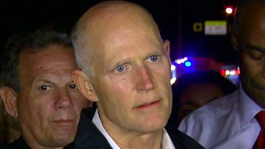 Florida governor shares an update after shooting at Broward County, Florida school.