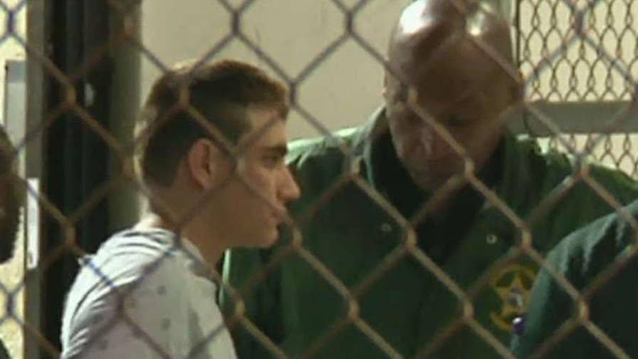 Nikolas Cruz has been booked in the county jail in Florida.