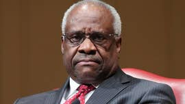 Clarence Thomas makes rare intervention during Supreme Court arguments
