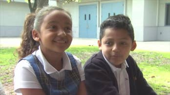 A modern-day Doogie Howser saved the day. 8-year-old Andrew Ramirez didn't hesitate to jump in and perform the Heimlich maneuver on his 7-year-old buddy, Makayla Annis after she started choking on candy during a Valentine's Day party.