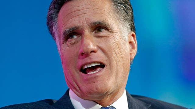Romney announces Utah Senate run