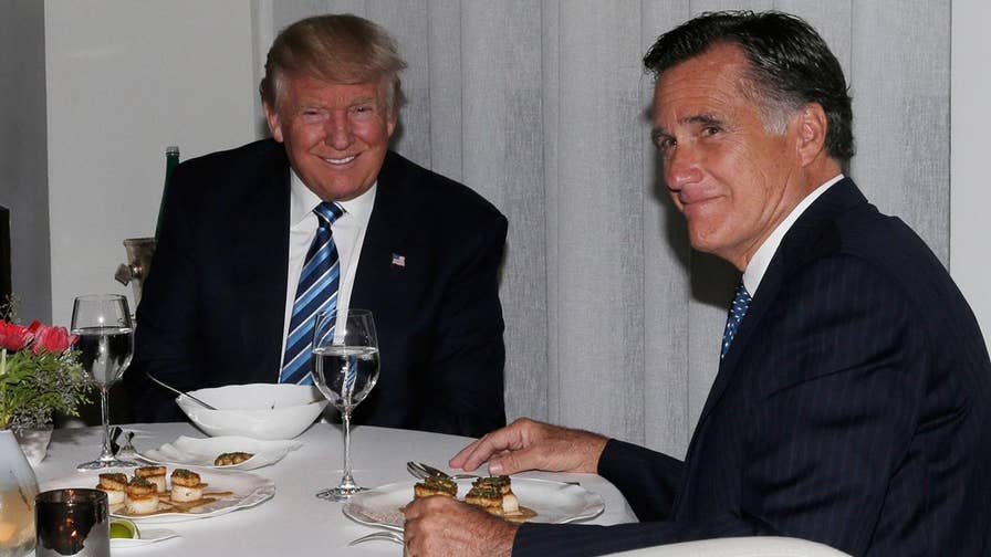 Mitt Romney's clashes with Donald Trump: A look back at the statements, messages, and tweets