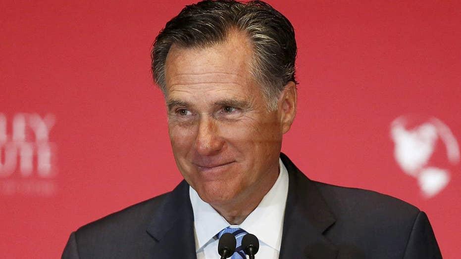 Mitt Romney announces his Utah Senate run