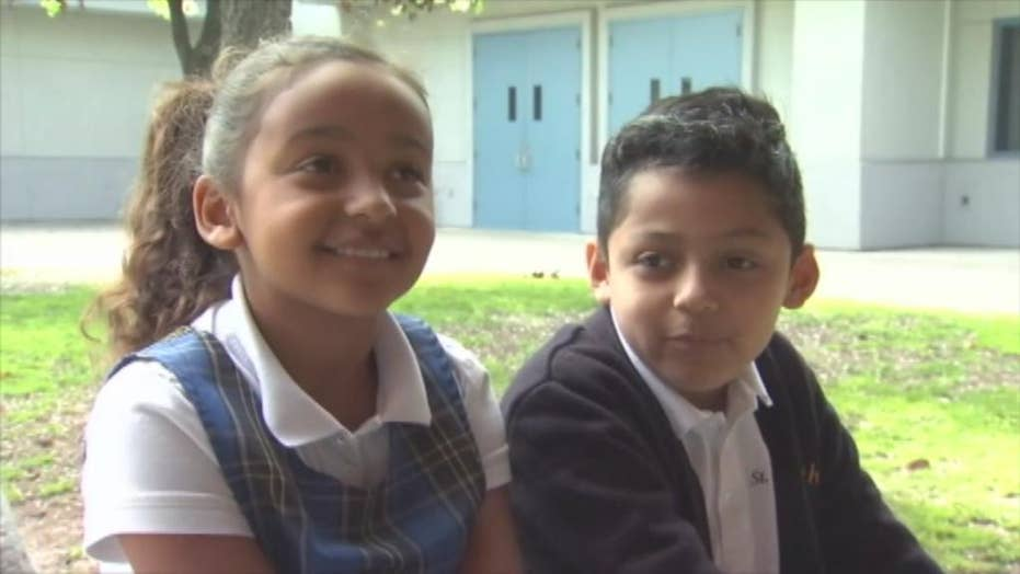 8-year-old California student saves choking classmate