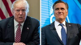 "President Trump gave his full backing to 2012 Republican presidential nominee Mitt Romney, saying that Romney's bid for a Senate seat from Utah ""has my full support and endorsement!"""