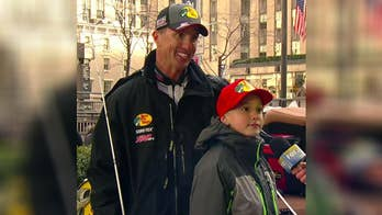 Father and son bond over fishing with help from Bass Pro Shops.