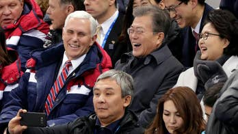 Will Olympic spirit help thaw tensions between the U.S. and North Korea? Greg Palkot reports from South Korea.