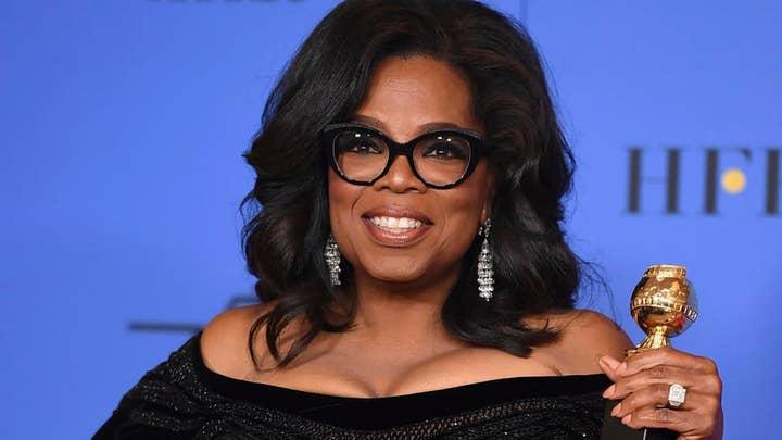 Oprah says she hasn't heard God tell her to run for office