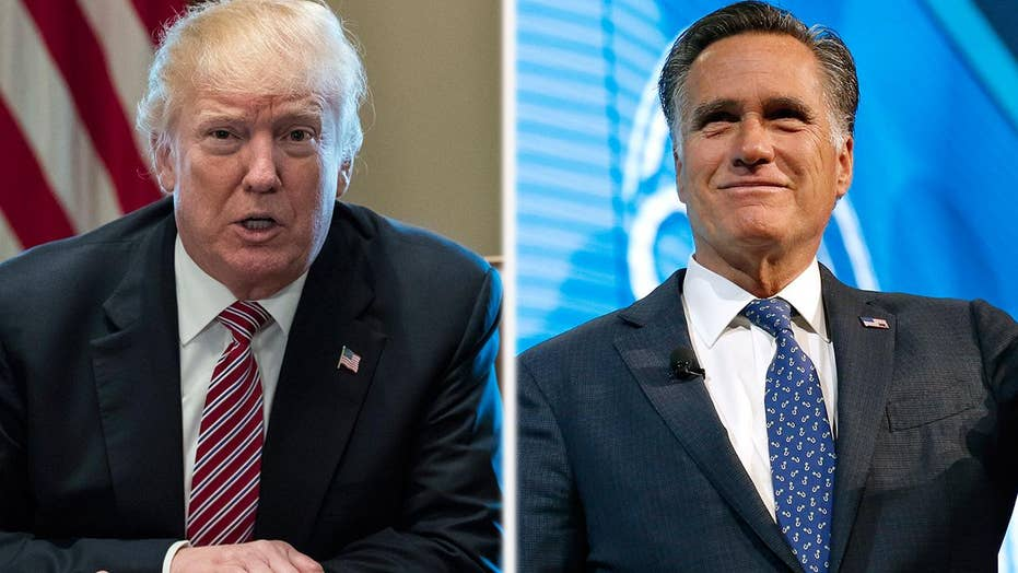 Romney willing to work with Trump on areas of common ground