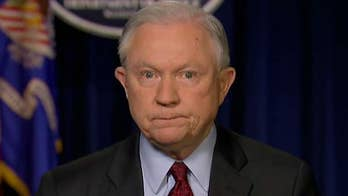 Sessions speaks out about the need to eliminate 'lawlessness' in the immigration system and discusses the Russia investigation on 'Sunday Morning Futures.'