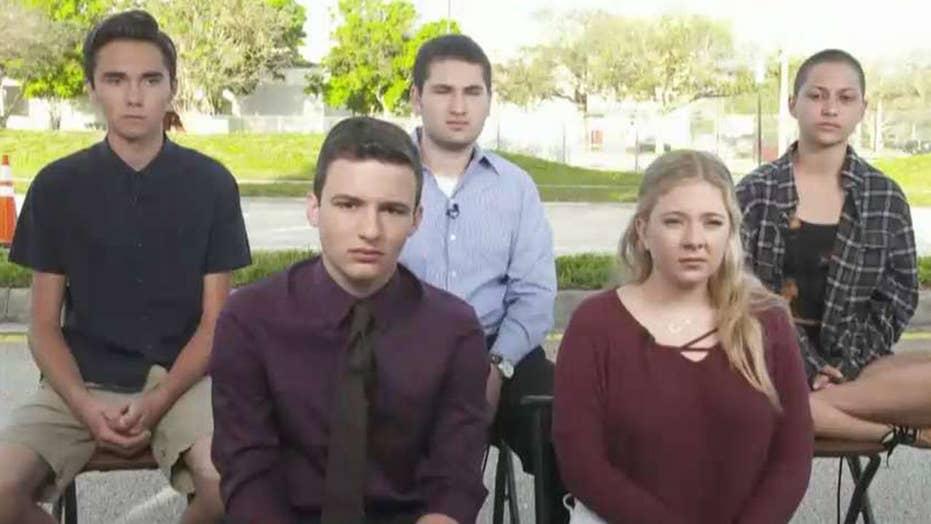 Parkland student survivors demand end to gun violence
