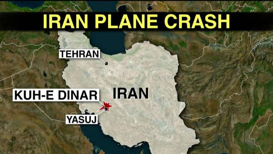 65 people killed in southern Iran plane crash