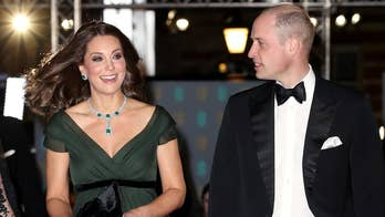 Kate Middleton criticized for wearing green to BAFTAs despite all-black Time's Up-inspired dress code.