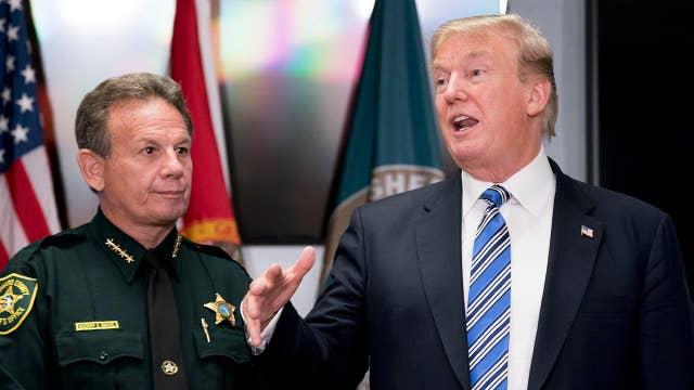 President Trump supports background check legislation