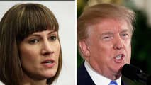 Rachel Crooks alleges the incident occurred in 2006; President Trump takes to Twitter to slam the accusation on as 'fake news.'