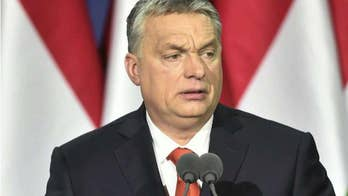 Prime Minister Viktor Orban rails against European leaders' insistence on mass migration.