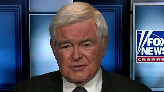 Former House speaker Newt Gingrich discusses the national security concerns in light of the Russian indictments, the Florida massacre and Romney's Utah Senate run.