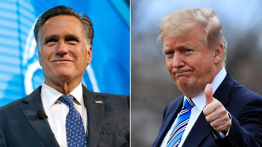 Trump throws his support behind Romney's Senate bid; reaction and analysis from Fox News contributor Jessica Tarlov and Kevin McCullough, conservative radio talk show host.