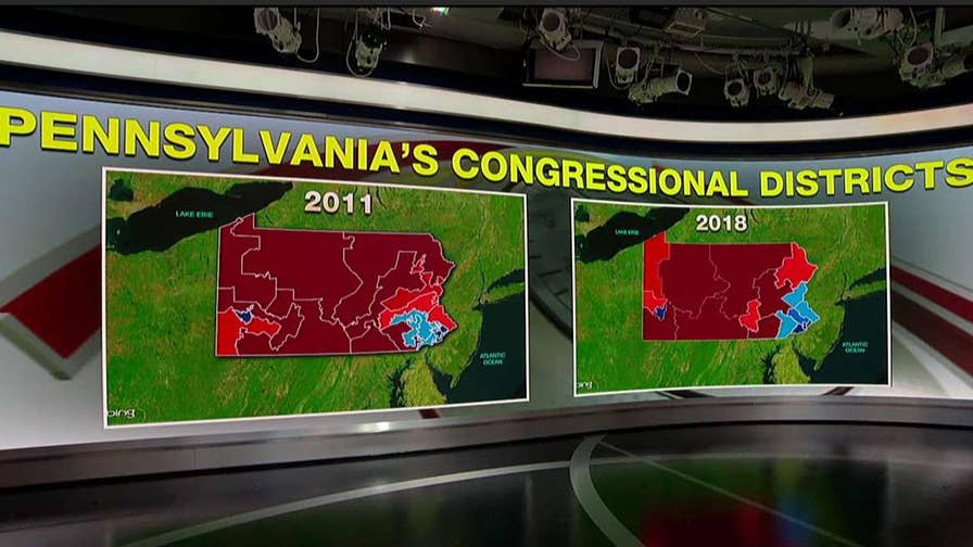 Kevin McCullough and Jessica Tarlov on the impact of Pennsylvania's new district map ahead of the midterm elections.