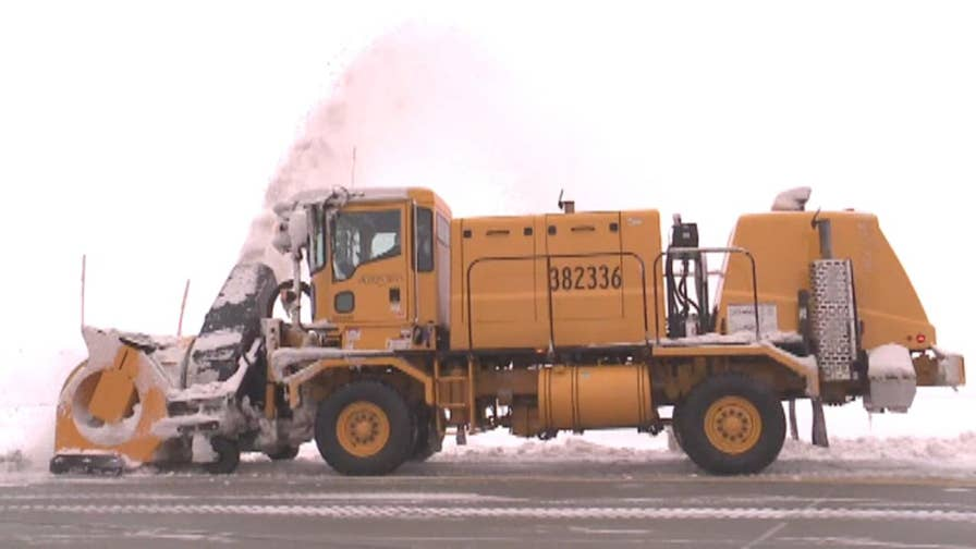A behind the scenes look at the massive snow-clearing operation at Salt Lake City International Airport.