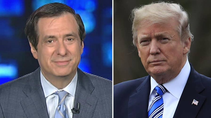 'MediaBuzz' host Howard Kurtz weighs in on why President Trump may finally face the press at this year's correspondents dinner after agreeing to attend the gridiron dinner.