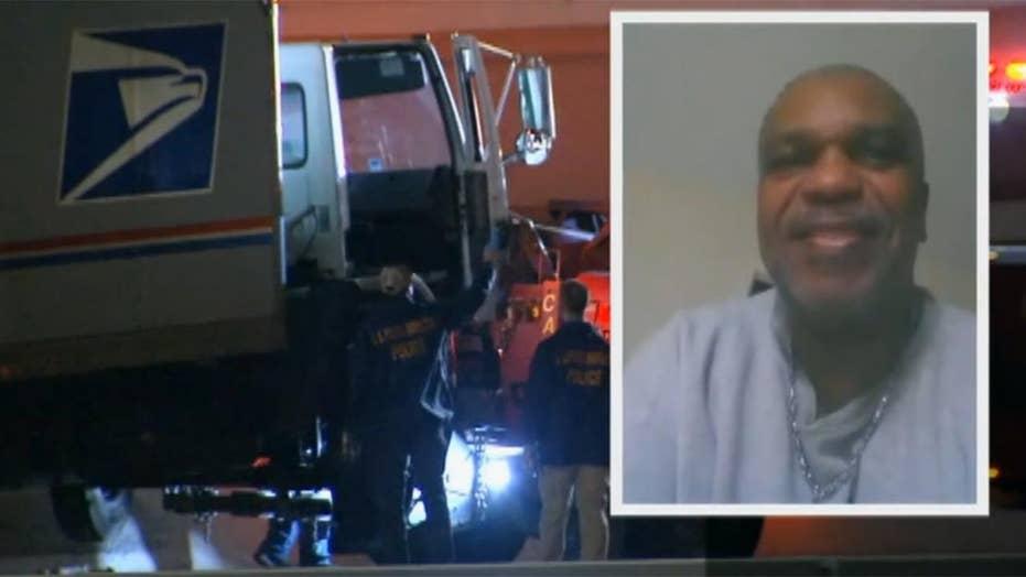 Postal worker found shot to death in mail truck on highway