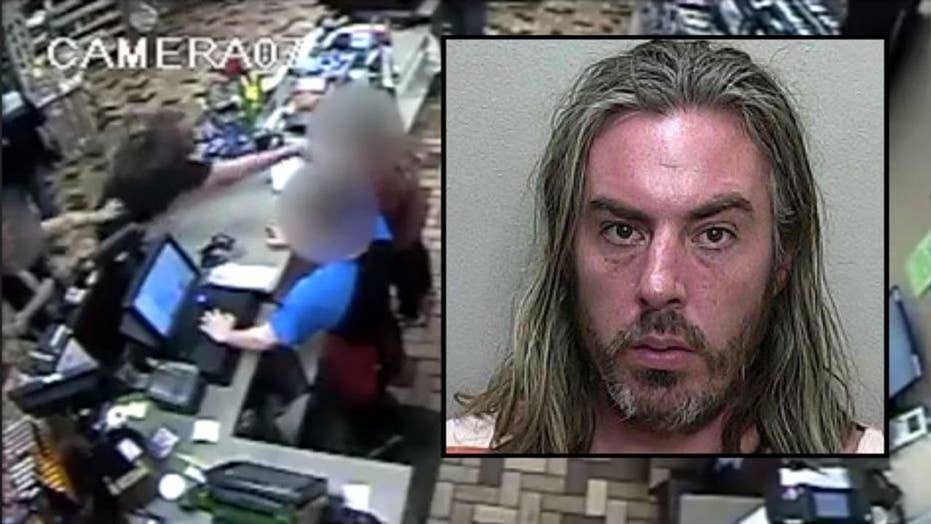 Florida man arrested for throwing hot dogs at store clerk