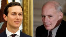 White House says John Kelly's new policy on security clearances will not affect the president's son-in-law; insight from Jeff Mason, White House correspondent for Reuters.