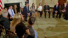 "President Trump said Wednesday the administration is going to strengthen background checks and ""put a strong emphasis on mental health,"" as he promised students and families ""we are going to get it done."""