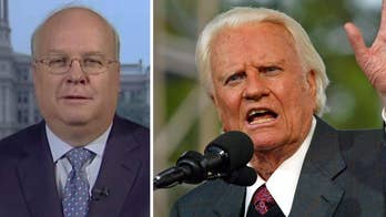 Fox News contributor Karl Rove talks about Billy Graham's personality.