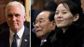 The Brookings Institution's Michael O'Hanlon commends Pence's willingness to talk to the rogue regime from a 'firm, principled position.'