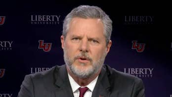 Falwell mourns the loss of the legendary Christian evangelist, praises his gift of communication.